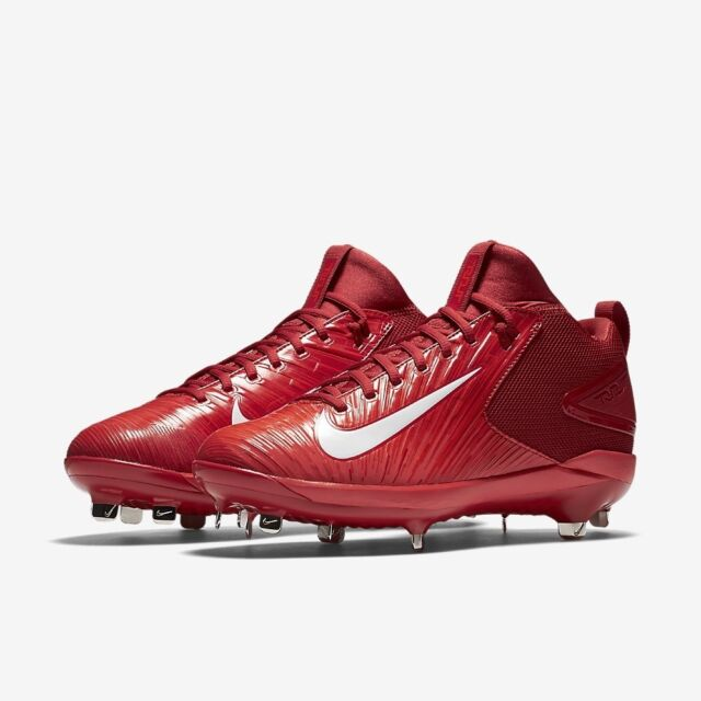 94a360acf0 Nike Force Trout 3 Pro Metal Baseball Cleats Red   White Size 11 for ...