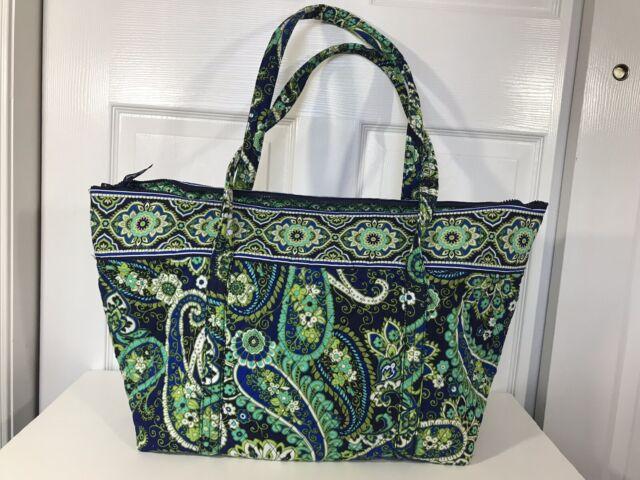 New Vera Bradley Miller Bag In Rhythm Blues