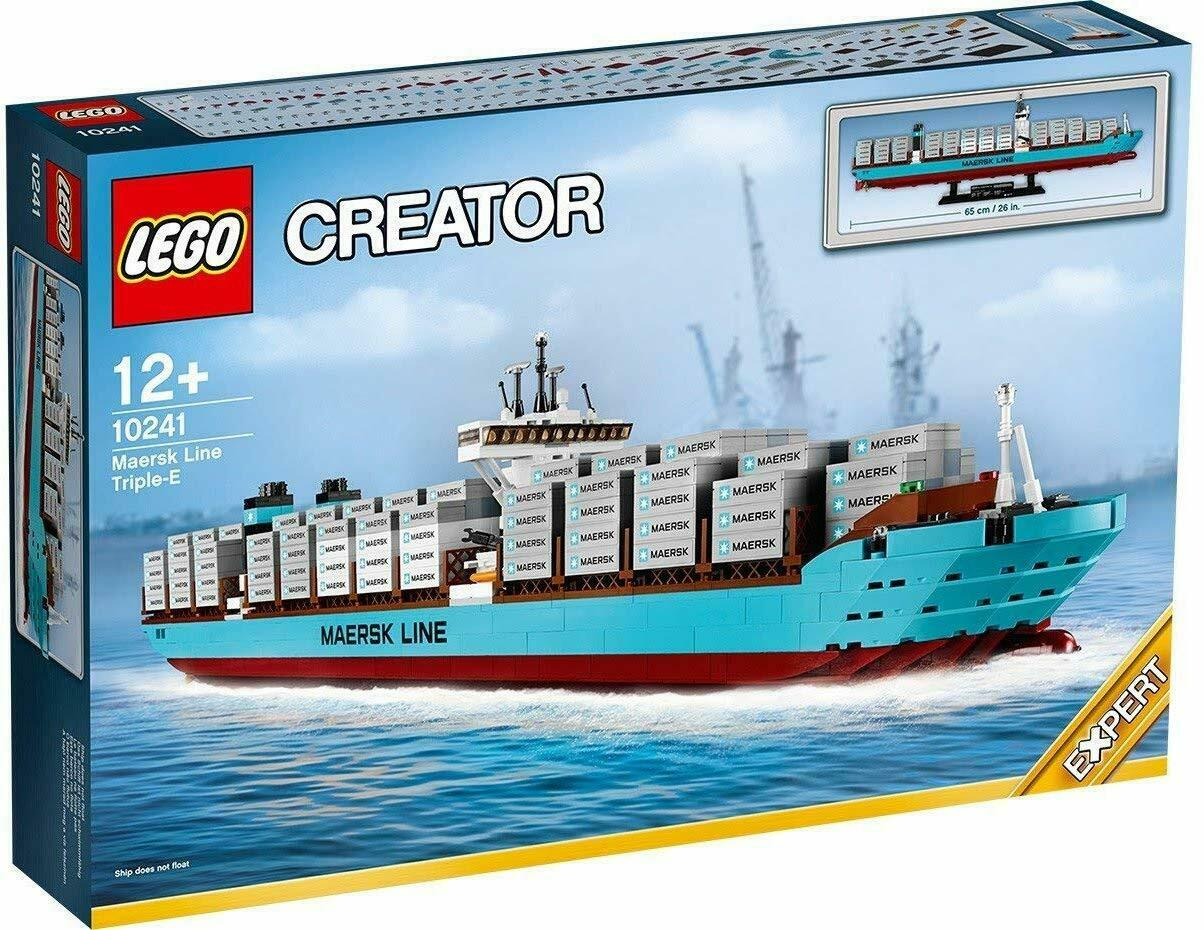 LEGO Creator Set 10241 Maersk Line Triple-E (BRAND NEW IN BOX)