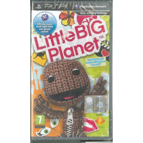 Little Big Planet Video Game Psp Sony Sealed 0711719143352
