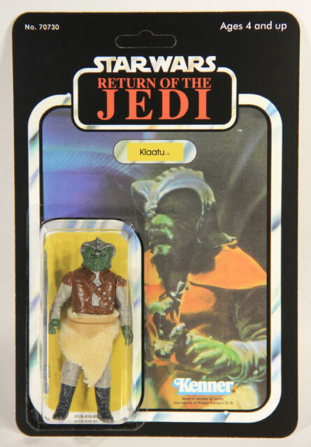 Star Wars Klaatu ROTJ Custom Carded 1983 Action Figure Kenner L008981