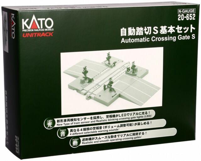 Kato N Jauge Automatique Niveau Passage S Basique Set 20-652 Chemin Modèle