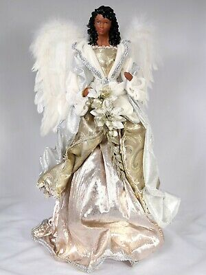 18 Gold Silver Christmas Black Angel