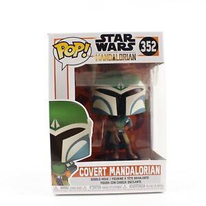 Mandalorian POP Star Wars Vinyl Figure Bobbl... Covert Mandalorian Funko POP