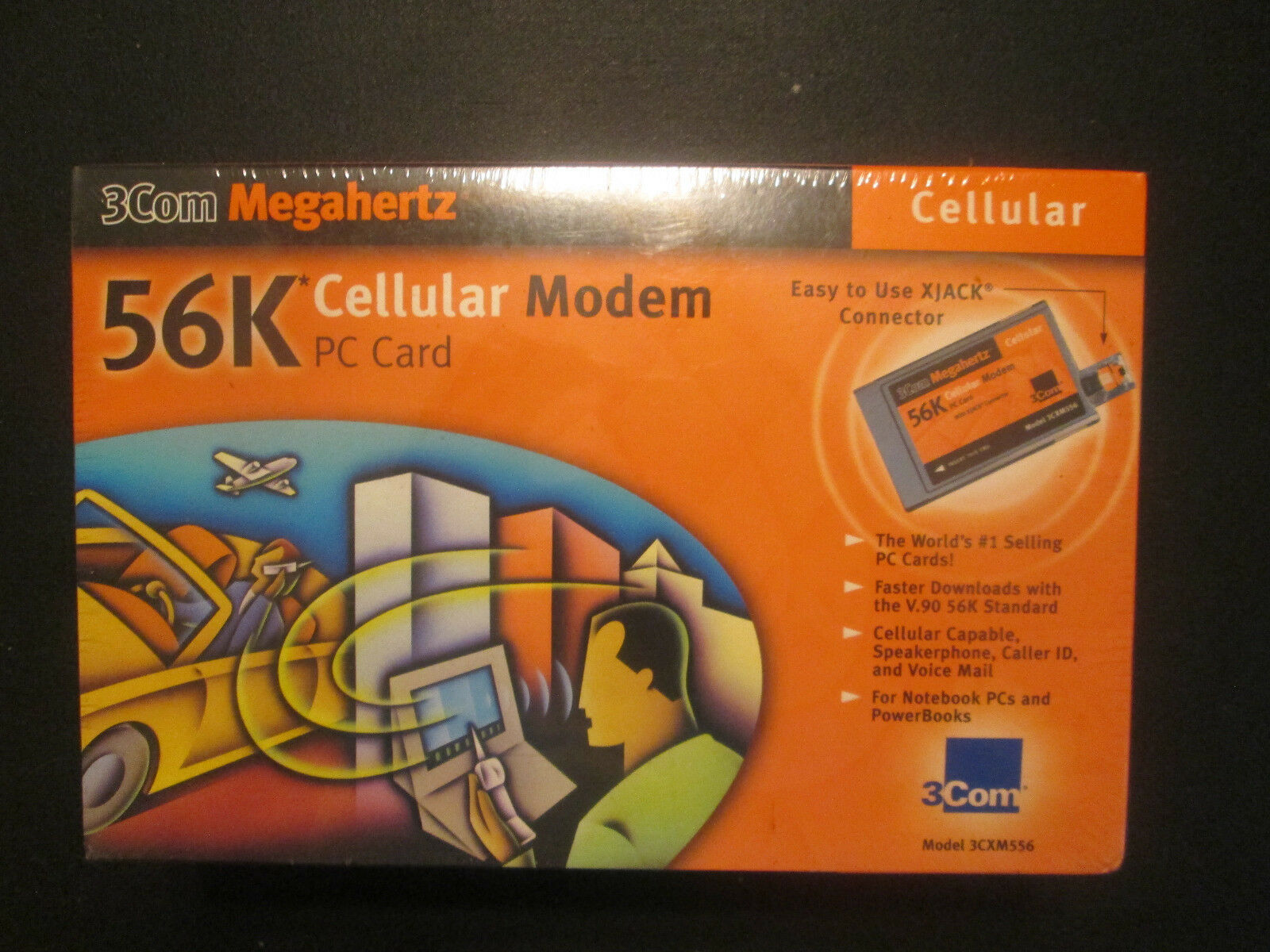 3Com Megahertz Cellular 3CXM556 56 Kbps