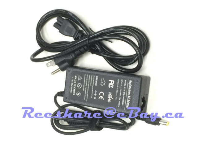65W AC adapter power cord charger for Acer Aspire 4739 5342 5750 5349 9100 9104