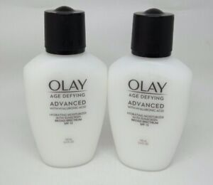 LOT-OF-2-Olay-Age-Defying-Anti-Wrinkle-Day-Lotion-Broad-Spectrum-SPF15-3-4-oz