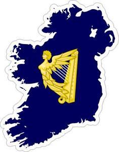 Adesivi-adesivo-moto-auto-sticker-bandiera-vinyl-decal-mappa-irlanda-irish