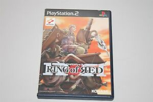 Ring of Red Japan Sony Playstation 2 PS2 game