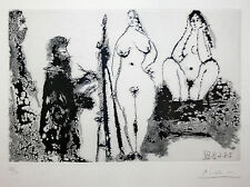 """PABLO PICASSO """"347 SERIES (B. 1715)"""" 1968 