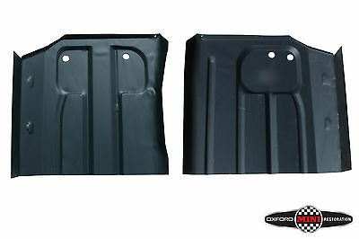 Pair of Classic Mini Front Floor Pan / Foot Well Driver & Passenger 1991 Onw