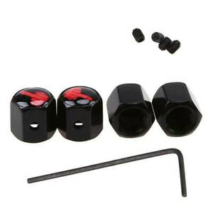 Set-of-4-Valve-Caps-Wheel-Alloy-Tyre-Dust-Covers-Retro-Car-Bike-Van-Accessories