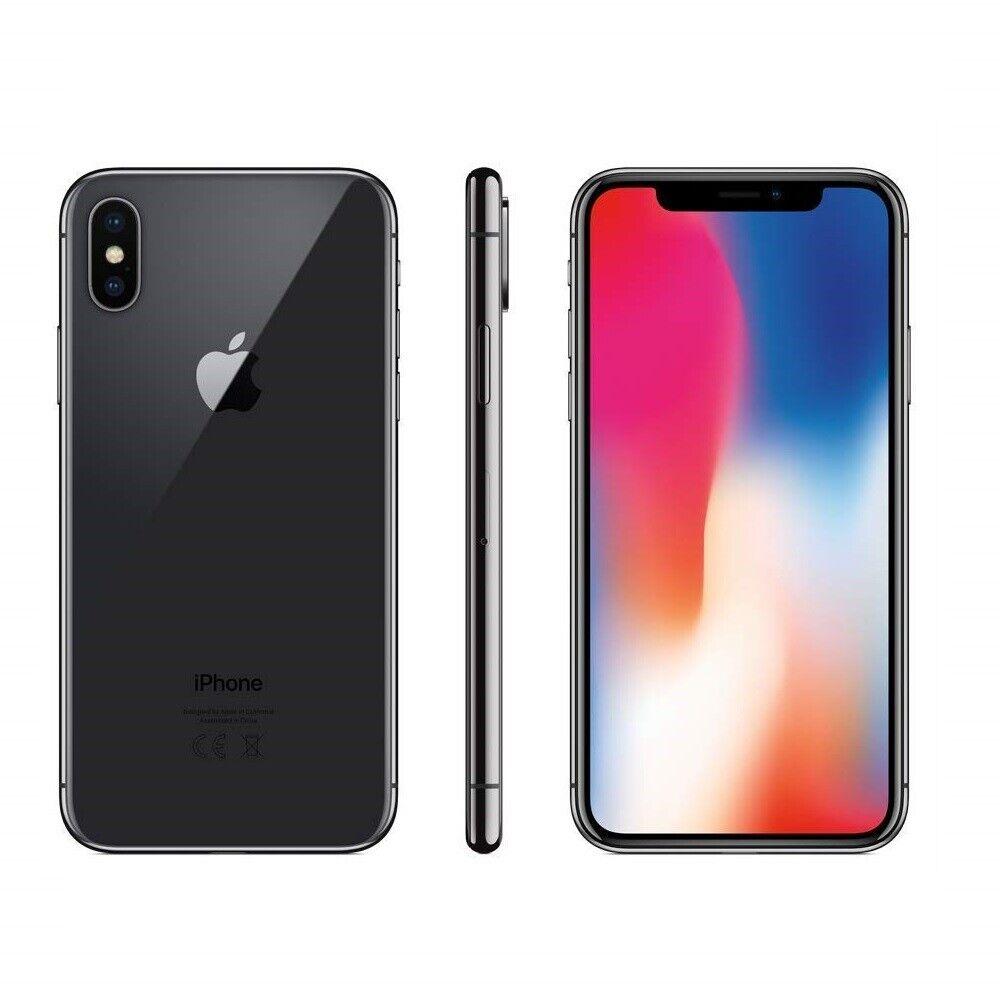 iPhone: IPHONE X RICONDIZIONATO 64GB GRADO A NERO BLACK ORIGINALE APPLE RIGENERATO