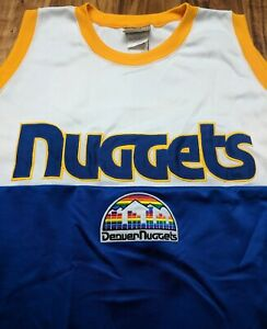 Denver-Nuggets-Hardwood-Classics-Vintage-Throwback-Jersey-Rainbow-Majestic-XXXL