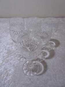 6 X VB Cristallo Design Madeiraglas - Vintage