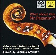 Saschko Gawriloff - What About This: Mr Paganini [New SACD] Hybrid SACD