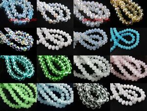 Wholesale-200pcs-3mm-Faceted-Glass-Crystal-Loose-Beads-Spacer-Rondelle-bead-New