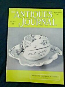 Antiques-Journal-1963-Faience-Circus-Parade-Wagons-Coin-Glass-Shelburne-Museum