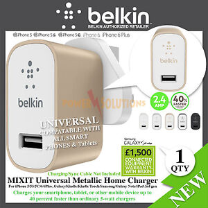Belkin-MIXIT-Metallic-Universal-Home-Charger-2-4Amp-for-Smartphone-Tablets