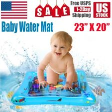 For Kids Children Inflatable Baby Water Mat Novelty Play Infants Tummy Time USA