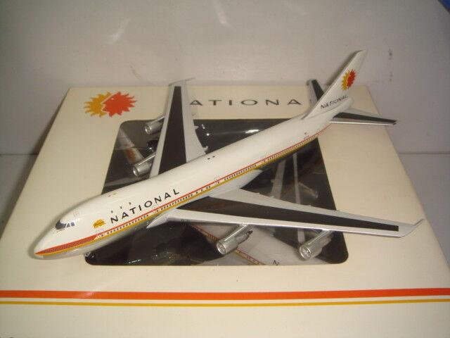 barato y de alta calidad Aeroclassics Aeroclassics Aeroclassics 400 aerolíneas nacionales  B747-100 1970s Color-Patricia  1 400  100% garantía genuina de contador