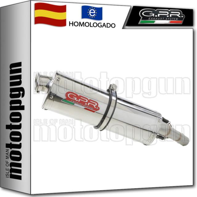 GPR TUBO DE ESCAPE HOM TRIOVAL MOTO GUZZI GRISO 1200 8V 2010 10 2011 11 2012 12