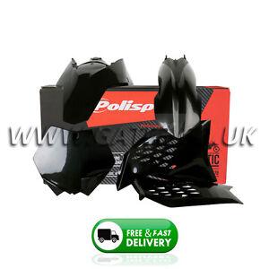 KTM 250SXF SXF 250 2005-2006 Black Polisport Plastics Kit Fairing Panel Set