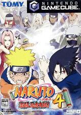 Naruto: Clash of Ninja 4 (Nintendo GameCube, 2005)