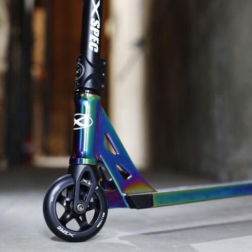 Xspec Neo Chrome Pro Stunt Kids Kick Scooter Anodized Aluminum BMX