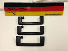 VW GOLF GTI MK2 JETTA SPRUNG FOLDING ROOF GRAB HANDLES.191857607 FULL SET OF 3