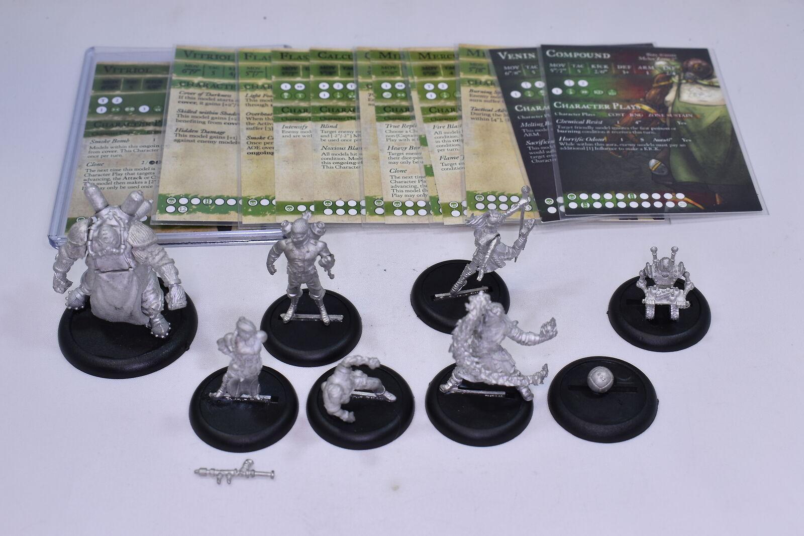 Gremio Bola Alquimista Guild-Midas Mercurio cálculo Venin compuesto matraz Cuervos
