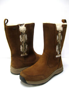55da693f9f8 Details about UGG SUVI WATERPROOF WOMEN WINTER BOOTS LEATHER CHESTNUT US  9.5 /UK 8 /EU 40.5