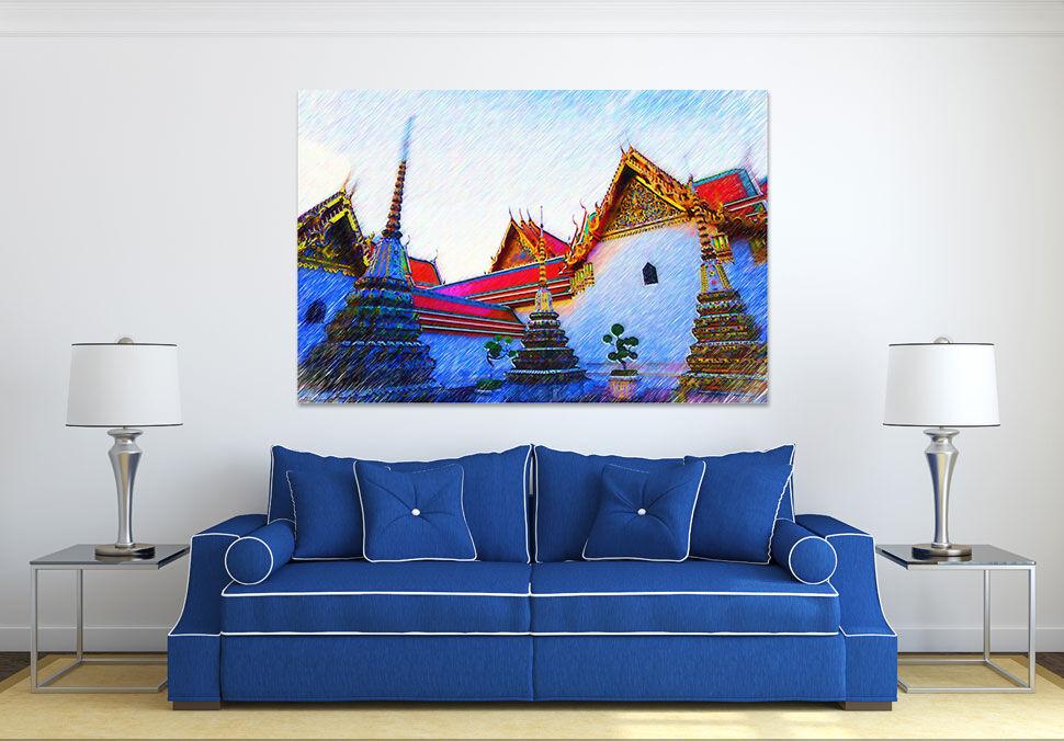 3D Himmel Huser 623 Fototapeten Wandbild BildTapete AJSTORE DE Lemon