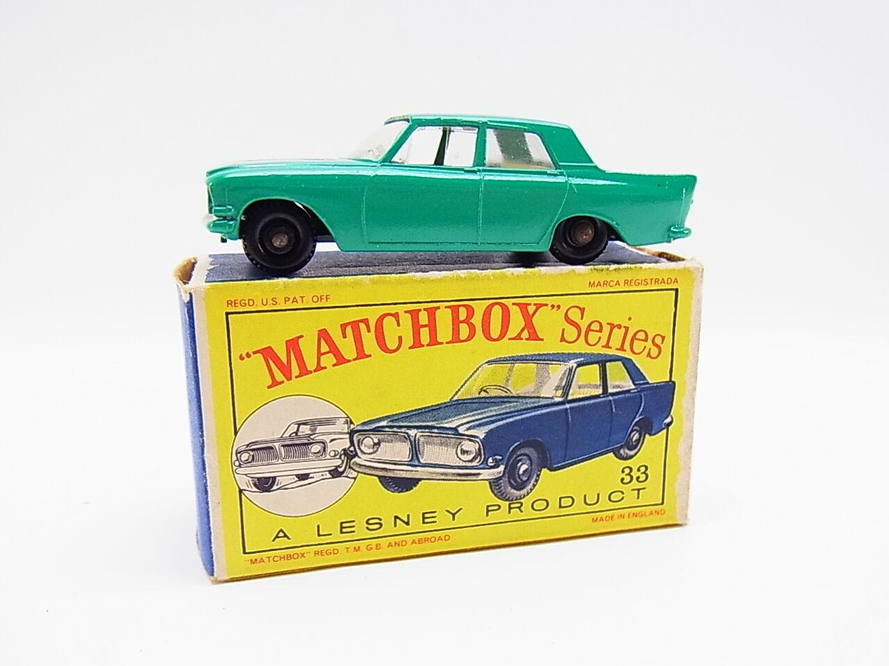 Lot 33345   MATCHBOX 33 B FORD ZEPHYR 6 voitures neuf en  D  - Box