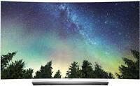 "LG OLED55C6P 55"" Full 3D 2160p UHD OLED Television Televisions"
