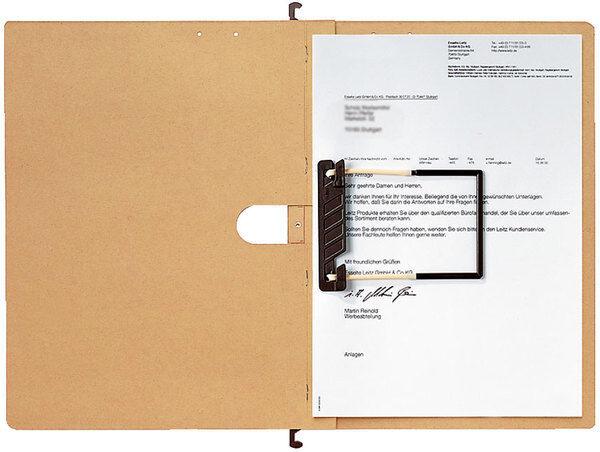 25 Stk. LEITZ Hängehefter alpha A4 Schlauchheft. br 230g qm Natronkarton 1989 | Bestellung willkommen  | Up-to-date Styling  | Elegant Und Würdevoll