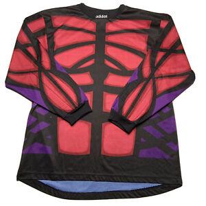 Details about Vintage 90s Adidas Predator Soccer Goalie Goalkeeper Long Sleeve Jersey Shirt XL
