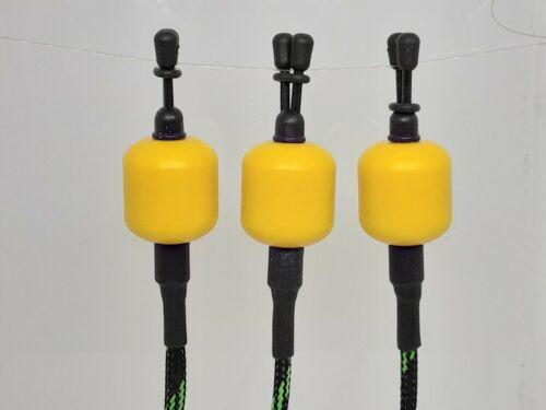 Custom Made Carp fishing Bobbin Indicator  X 1 Custard yellow Body only.