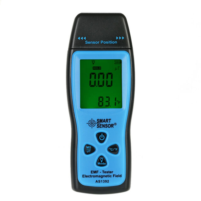 Digital LCD EMF Tester Electromagnetic Radiation Detector Dosimeter Meter D9S1