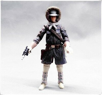 3.75/'/' Toy Star Wars LEGACY Han Solo Hoth Gear Recon Patrol Battle Action FIGURE
