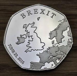 Brexit Coin Rare Like Kew Gardens 50p Souvenir Hunt Commemorative Collectors