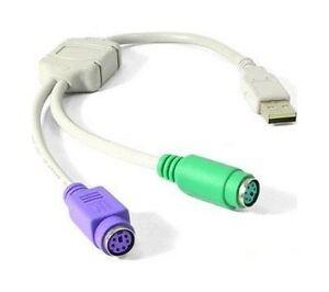 Adaptateur-Convertisseur-USB-PS2-PS-2-Clavier-et-Souris