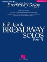 The First Book Of Broadway Solos Part Ii Mezzo-soprano Edition Vocal 000001112