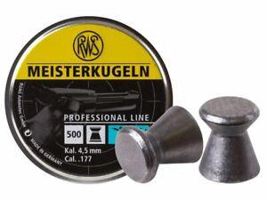 UMAREX-Meisterkugeln-177-Caliber-500-Count-Wadcutter-Pellets