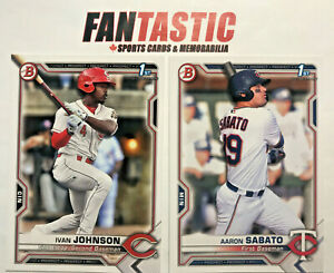 2021 Bowman Paper Prospect Card YOU PICK #BP-01 to BP-150 - Finish Your Set!