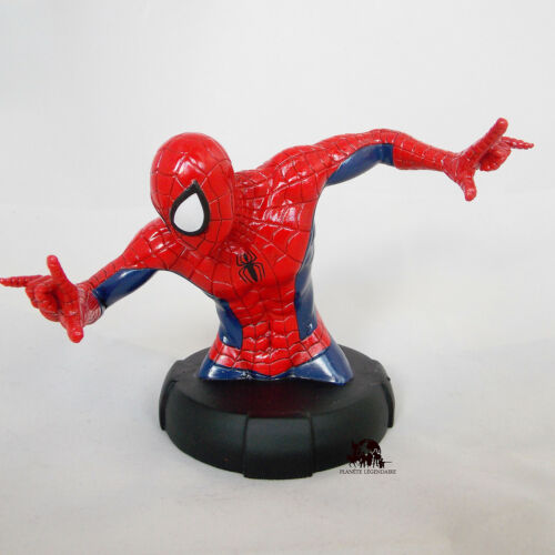 Figurine Buste SPIDERMAN Marvel Super Héros no DC Comics Résine Certificat NEUF