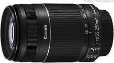 CANON EF-S55-250mm f/4-5.6 IS II Lens FOR CANON EOS 550D,600D,700D,750D,70D !!.