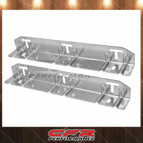 Emc Aluminum Steel Angled Radiator Mounting Bracket Kit