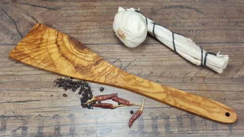 Pfannenwender glatt aus Olivenholz 32 cm