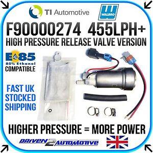 Walbro Ti Automotive F90000274 Haute Pression Racing Pompe à Carburant-track Day Race-afficher Le Titre D'origine Apparence Brillante Et Translucide